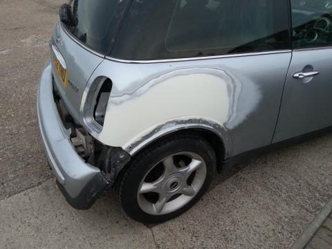 Car panel beater, body work repairs.