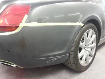 Bumper Scuff Damage
